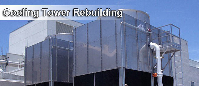 Cooling Tower Rebuilding Services